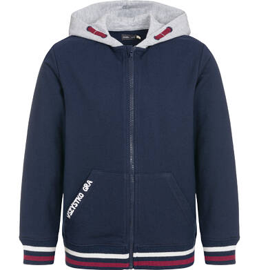 Endo - Rozpinana bluza z kapturem dla chłopca 3-8 lat C92C005_1