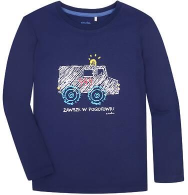 Endo - T-shirt z długim rękawem dla chłopca 3-8 lat C72G039_1