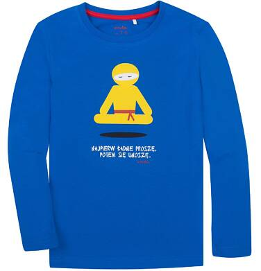 Endo - T-shirt z długim rękawem dla chłopca 3-8 lat C72G092_1