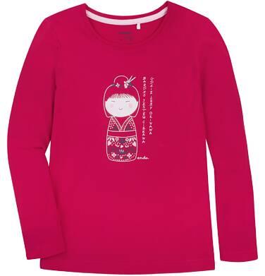 Endo - Bluzka z długim rękawem  dla dziewczynki 3-8 lat D72G049_1