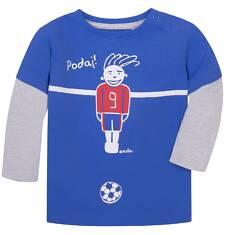 Koszulka z kontrastowymi rękawami dla dziecka 6-36 m N72G046_1