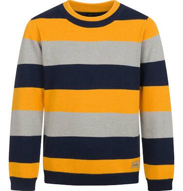 Sweter dla chłopca, w paski, 2-8 lat C04B017_1