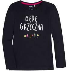 Endo - Bluzka z długim rękawem  dla dziewczynki 9-13 lat D72G652_1