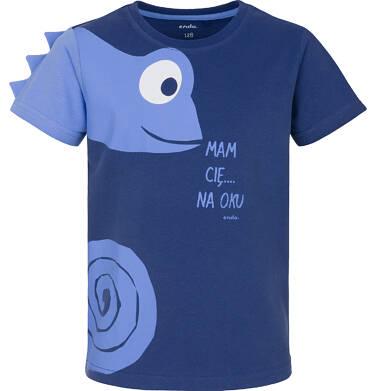 Endo - T-shirt z krótkim rękawem dla chłopca 9-13 lat C91G638_2