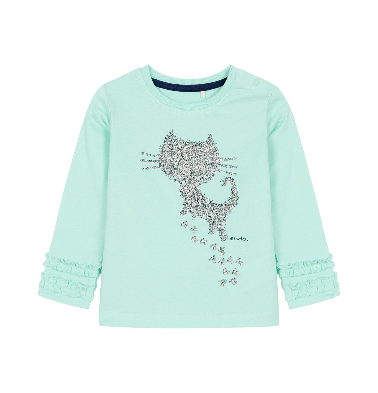 Endo - Bluzka z długim rękawem dla dziecka 0-3 lata N92G038_2