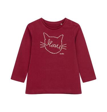Endo - Bluzka z długim rękawem dla dziecka do 2 lat, z kotem N04G028_2 26