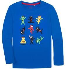 T-shirt z długim rękawem dla chłopca 3-8 lat C72G095_1