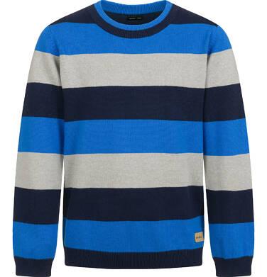 Sweter dla chłopca, w paski, 9-13 lat C04B023_2