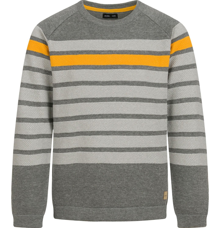 Endo - Sweter dla chłopca, w paski, 9-13 lat C04B024_1