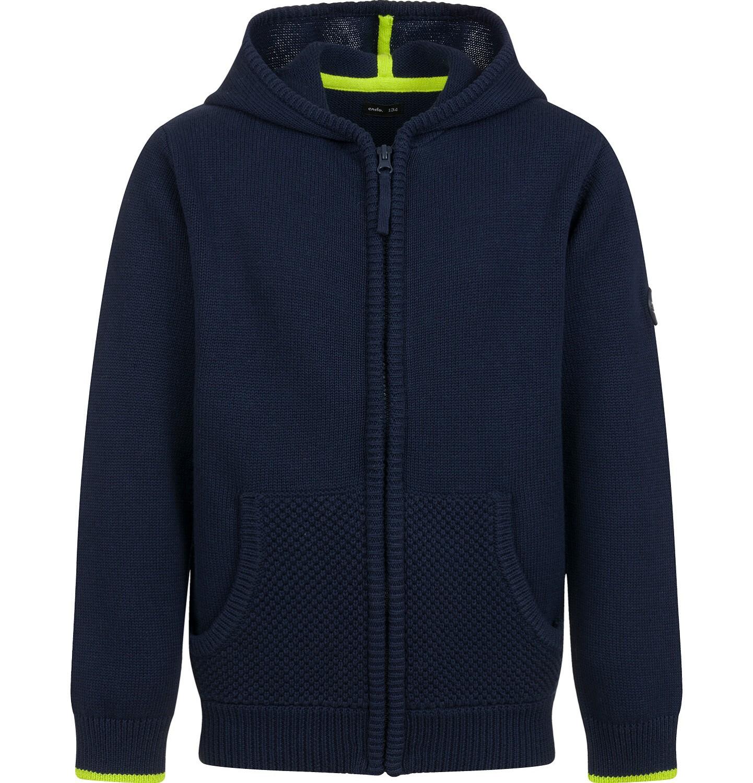 Endo - Sweter dla chłopca, rozpinany, granatowy, 9-13 lat C04B027_1