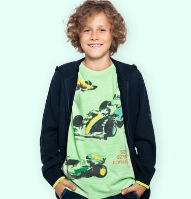 Endo - Sweter dla chłopca, rozpinany, granatowy, 9-13 lat C04B027_1 150