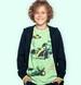 Endo - Sweter dla chłopca, rozpinany, granatowy, 9-13 lat C04B027_1,1