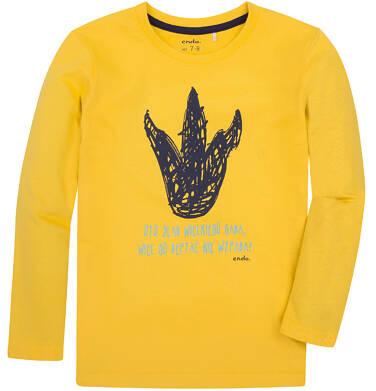 Endo - T-shirt z długim rękawem dla chłopca 3-8 lat C72G109_1