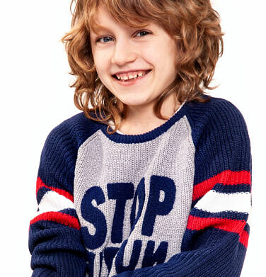 Endo - Sweter dla chłopca 9-13 lat C82B515_1