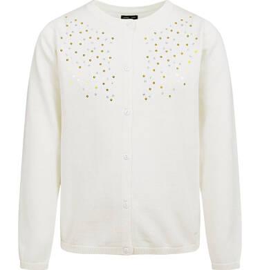 Endo - Sweter dla dziewczynki, rozpinany, porcelanowy, 2-8 lat D04B001_3 5