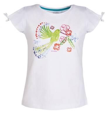 Endo - Bluzka z krótkim rękawem dla dziewczynki 3-8 lat D81G143_1