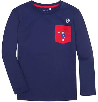 Endo - T-shirt z długim rękawem dla chłopca 3-8 lat C72G156_2
