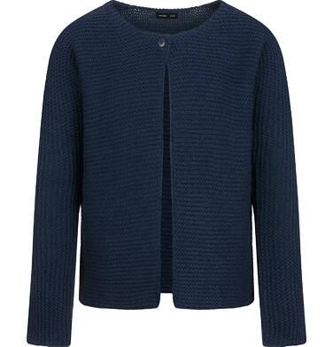 Sweter dla dziewczynki, rozpinany, granatowy, 2-8 lat D04B008_2