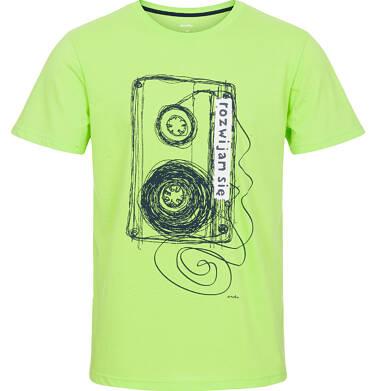 Endo - T-shirt męski z krótkim rękawem Q92G008_1