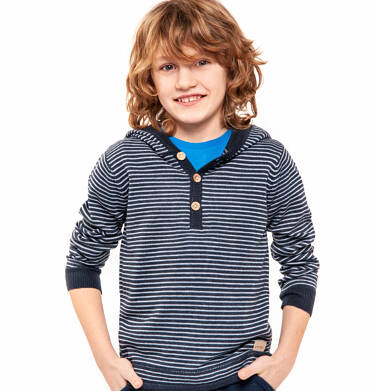 Endo - Sweter z kapturem dla chłopca 3-8 lat C82B008_1