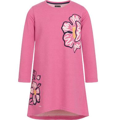 Endo - Sukienka z długim rękawem dla dziewczynki 3-8 lat D92H041_1