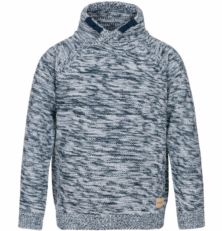 Endo - Sweter ze stójką dla chłopca 3-8 lat C82B009_1