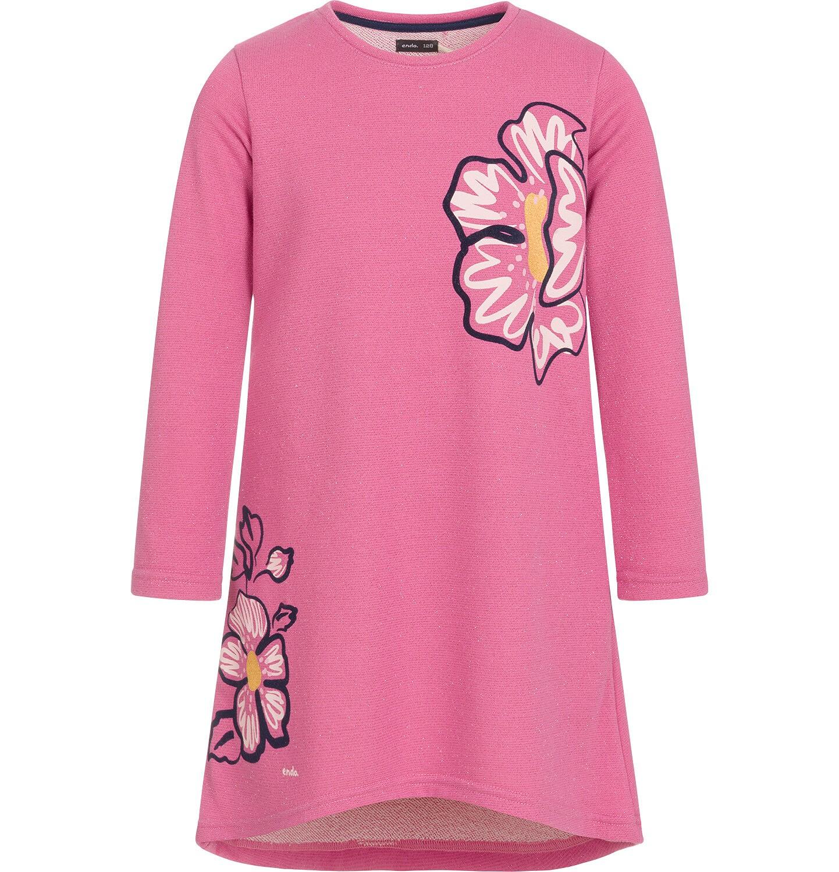 Endo - Sukienka z długim rękawem dla dziewczynki 9-13 lat D92H541_1