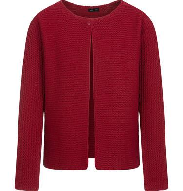 Endo - Sweter dla dziewczynki, rozpinany, bordowy, 9-13 lat D04B016_1,1