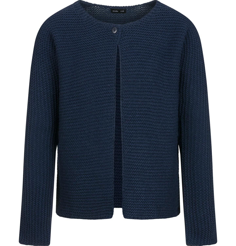 Endo - Sweter dla dziewczynki, rozpinany, granatowy, 9-13 lat D04B016_2