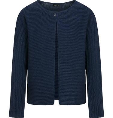 Endo - Sweter dla dziewczynki, rozpinany, granatowy, 9-13 lat D04B016_2 2