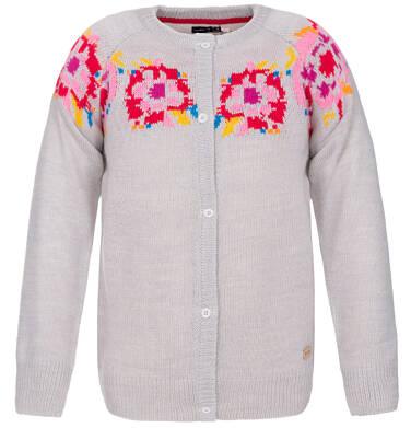 Sweter zapinany dla dziewczynki 3-8 lat D82B004_1