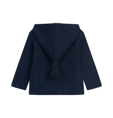 Endo - Sweter dla dziecka do 2 lat, granatowy N04B001_3 16