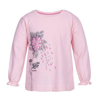 Endo - T-shirt z długim rękawem dla dziecka 0-3 lata N82G033_1