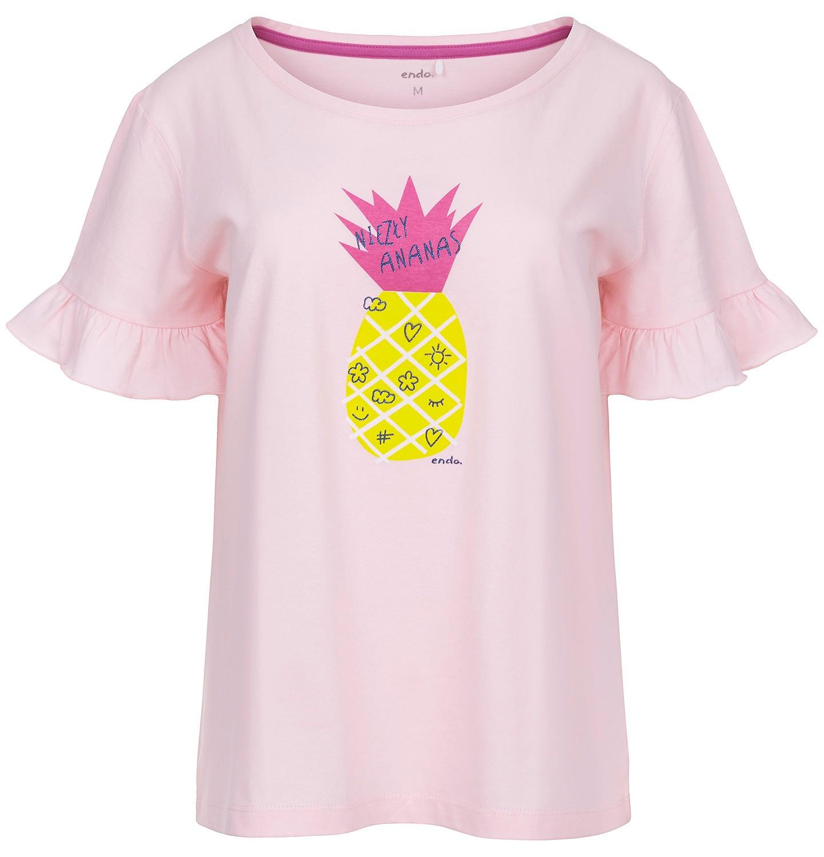 Endo - T-shirt damski z krótkim rękawem Y91G008_1