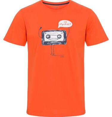Endo - T-shirt męski z krótkim rękawem Q92G009_1