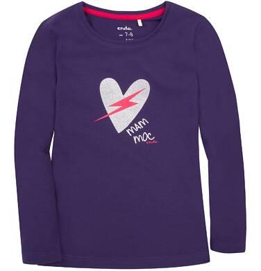 Endo - Bluzka z długim rękawem  dla dziewczynki 3-8 lat D72G066_1