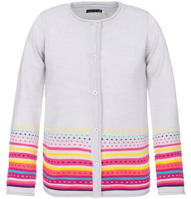 Endo - Sweter zapinany dla dziewczynki 3-8 lat D82B017_1