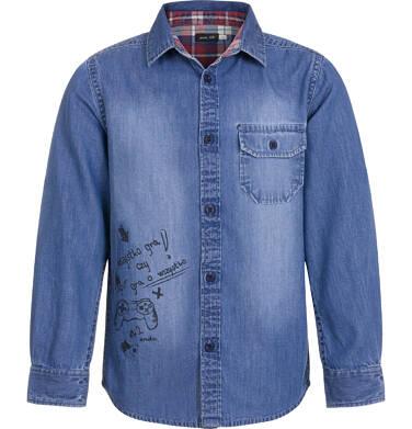 Endo - Koszula jeansowa dla chłopca 9-13 lat C92F501_1