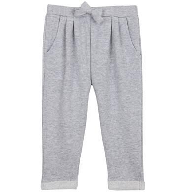 Endo - Spodnie dresowe ze srebrną nitką dla niemowlaka N62K004_2