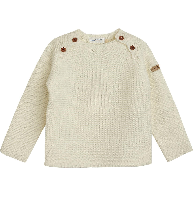 Endo - Sweter dla dziewczynki 0-3 lata N82B011_1