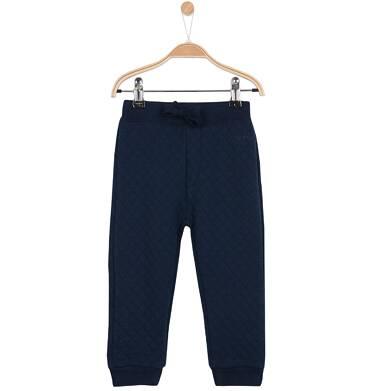 Endo - Spodnie dresowe z pikowanej dzianiny dla niemowlaka N62K025_1