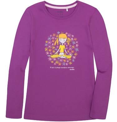 Endo - Bluzka z długim rękawem  dla dziewczynki 3-8 lat D72G087_2
