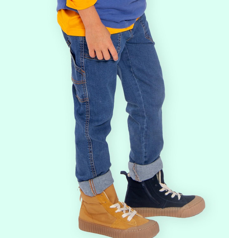 Endo - Spodnie jeansowe dla chłopca, 9-13 lat C04K033_1