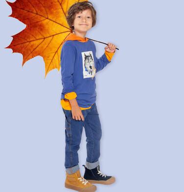 Spodnie jeansowe dla chłopca, 9-13 lat C04K033_1