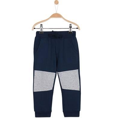 Endo - Grube spodnie dresowe ze ściągaczami  dla niemowlaka N62K026_1