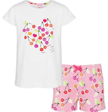 Piżama z krótkim rękawem dla dziewczynki 9-13 lat D91V501_1
