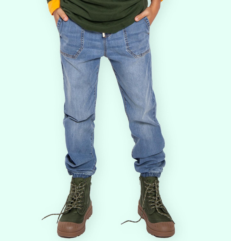 Endo - Spodnie jeansowe dla chłopca, 9-13 lat C04K034_1