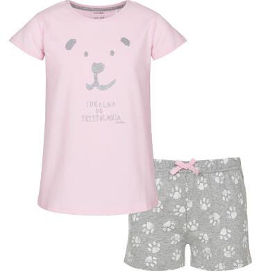 Piżama z krótkim rękawem dla dziewczynki 9-13 lat D91V502_1