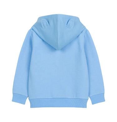 Endo - Bluza rozpinana z kapturem dla dziecka do 2 lat, z psem i uszami N03C010_1,2