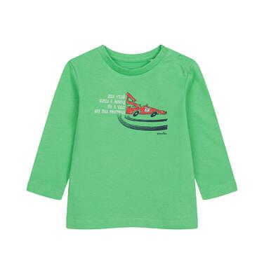 Endo - T-shirt z długim rękawem dla dziecka do 2 lat, z samochodem N04G042_1,1